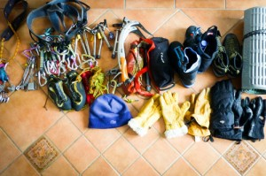 Mountaineering - gear selection